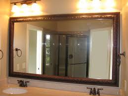bathroom square shell bathroom mirror frame ideas 3 white shade