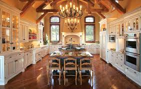 blue kitchen cabinets in cabin log cabin kitchen design ideas and inspiration