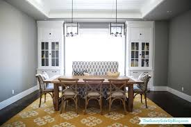 Bench Seating For Dining Room by Pillows For Bench Seating Dining Room Decor Update Bench Chairs