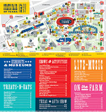 minnesota state fair map fairgrounds map state fair of