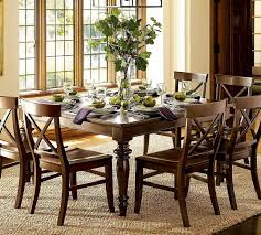Pottery Barn Dining Room Set 6pc Dining Table And Chair Set Pottery Barn Dining Room Decorating