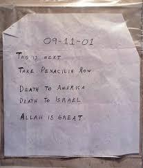 2001 anthrax attacks wikipedia