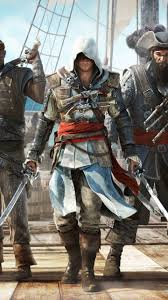 Video Game Flags Video Game Assassin U0027s Creed Iv Black Flag 1440x2560 Wallpaper