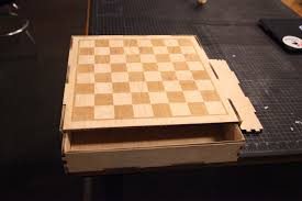 Diy Chess Set by Gigaom Making A Maker Laser Cutting A Chessboard