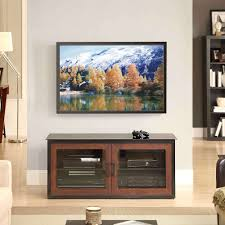 Entertainment Centers Home Staging Accessories 2014 Whalen Brown Closed Door 3 In 1 Tv Stand For Tvs Up To 55