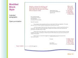ideas collection business letter modified block style mixed