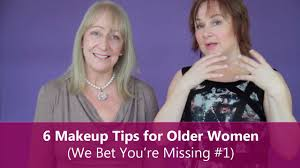 makeup tips for older women face makeup ideas