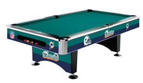 miami dolphins pool table without logo on cloth standard idolza
