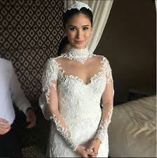 Designer Wedding Dresses Gowns Check Out Heart Evangelista U0027s Wedding Gown When In Manila