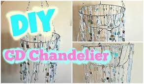 Chandelier Room Decor Diy Chandelier How To Make A Chandelier From Old Cds Room