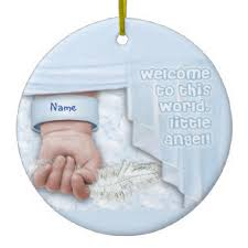 welcome baby boy ornaments keepsake ornaments zazzle