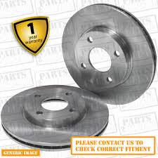 lexus is200 bristol front vented brake discs lexus is 200 saloon 99 05 155hp 296mm ebay