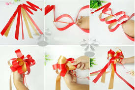 bows and ribbons 1 5meter 59inch two tone pull bows ribbons flowers gift wrapping