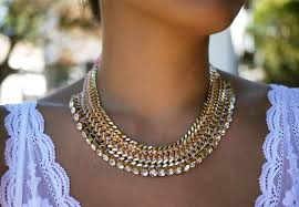 chain collar necklace images Diy woven chain collar necklace honestly wtf jpg