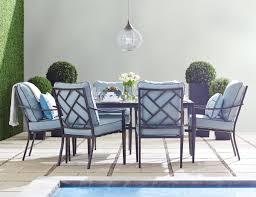 Hampton Bay Woodbury 7 Piece Patio Dining Set - san dimas dining collection by foremost veranda classics patio