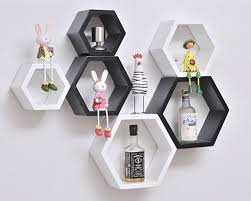 zjchao diy decorative wall ornaments floating shelves cube storage