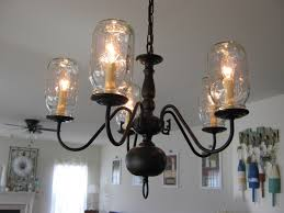 Canning Jar Lights Chandelier Fake It Frugal Fake Pottery Barn Mason Jar Chandelier