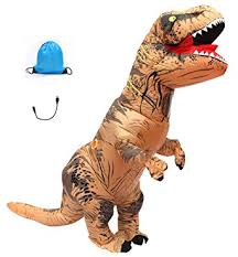Rex Halloween Costumes Amazon Seasonblow Inflatable Rex Dinosaur Halloween