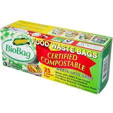 amazon com bio bag 3 gallon compost waste bag 25 ct home u0026 kitchen