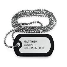 Photo Engraved Dog Tags Dog Tag Necklace Ebay