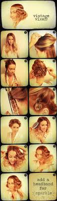 roaring twenties hair styles for women with long hair best 25 1920s hair tutorial ideas on pinterest 20s hair gatsby