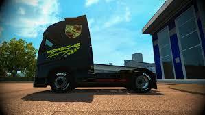truck volvo truck skin truck volvo skin porsche racing v1 0 euro truck
