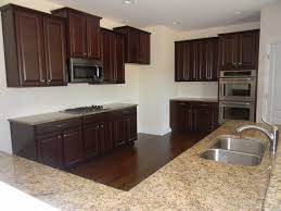 kitchen with gourmet built in double oven layout for the home