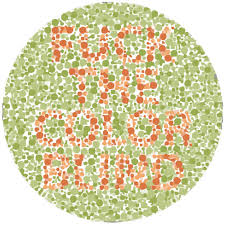 Color Blind Children Color Blindness Test Dickbutt
