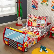 kidkraft fire truck toddler car bed u0026 reviews wayfair co uk