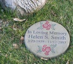 lifetime memorial garden stone with solar light memorial garden