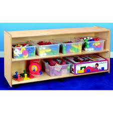 Open Shelving Unit by Childcraft Open Shelving Unit With Casters Wayfair