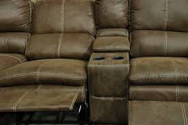 Sectional Sofa Reclining by Brown Microfiber Modern Reclining Sectional