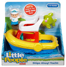 fisher price little people floaty boat toys