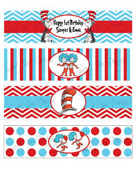 dr seuss wrapping paper dr seuss thing 1 thing 2 birthday party or baby shower water