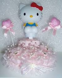 hello kitty baby shower diaper spoon topper cake birthday party