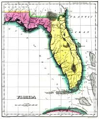 historic maps of florida geographical statistical and historical map of florida no 37 1822