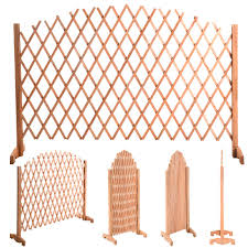 70 4 5 expanding portable fence wooden screen dog gate pet safety