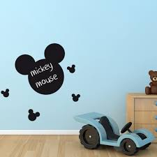 mickey mouse blackboard wall sticker wall chimp uk mickey mouse blackboard wall sticker