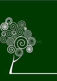 spiral tree stock illustration illustration of nature 8736605