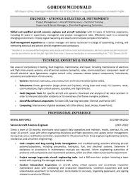 Resume Other Skills Examples by Avionics System Engineer Sample Resume Haadyaooverbayresort Com
