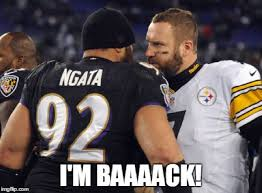 Steelers Ravens Meme - late for work 1 1 12 amazing ravens playoff memes