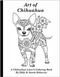 Art de Chihuahua Coloriages livre Volume n 1 physique  Etsy