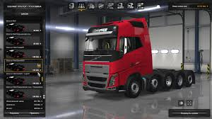 volvo american truck 2012 volvo fh 8x4 and 10x4 ets2 1 24 x x ets2 euro truck