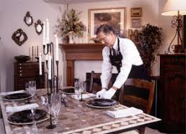 Dining Room Manager Professional Household Manager Butler Certificate Program