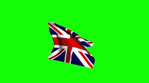 English Flag Free Hd Video Backgrounds U2013english Flag Waving On Green Screen