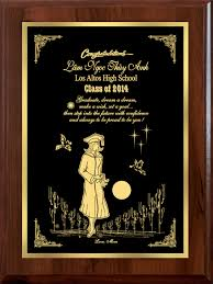graduation plaque personalized a graduation plaque brass graduation