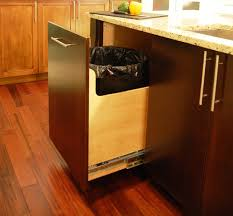 kitchen cabinet trash pull out custom 30 gallon trash can pull out contemporary kitchen