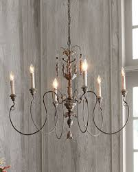 Camilla Chandelier Pottery Barn Salento Vintage Copper 6 Light Chandelier Salento Chandeliers
