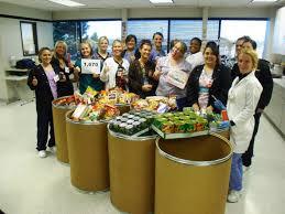 thanksgiving food drive items ross imdt thanksgiving food drive nets 3 000 canned food items