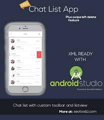 free chat for android free android templates android app design app templates